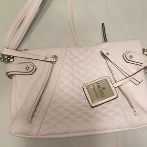 Light pink Nicole Miller pocketbook
